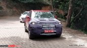 2018 Hyundai Creta (facelift) front three quarters spy shot Ooty
