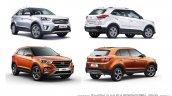 2018 Hyundai Creta vs 2015 Hyundai Creta - old vs new