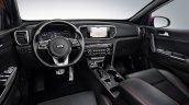 2018 Kia Sportage (facelift) interior dashboard