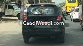 2018 Maruti Ertiga spy shot rear