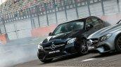 2018 Mercedes-AMG E 63 S review burnout