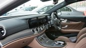 2018 Mercedes-AMG E 63 S review dashboard angle