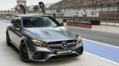 2018 Mercedes-AMG E 63 S review front angle