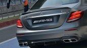 2018 Mercedes-AMG E 63 S review rear close