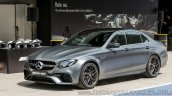 2018 Mercedes-AMG E 63 S review side angle