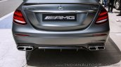 2018 Mercedes-AMG E 63 S review tail section