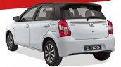 2018 Toyota Etios Sport rear three quarters