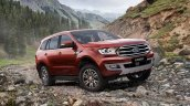 2019 Ford Everest (2019 Ford Endeavour) front three quarters right side