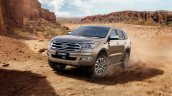 2019 Ford Everest (2019 Ford Endeavour) front three quarters