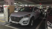 2019 Hyundai Tucson (facelift) front three quarters South Korea