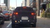 2019 Kia Sportage (facelift) rear spy shot