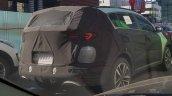 2019 Kia Sportage (facelift) rear three quarters spy shot