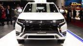 2019 Mitsubishi Outlander PHEV (facelift) front at GIMS 2018