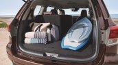 7-seat Nissan Terra boot