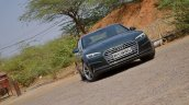 Audi A5 Cabriolet review front angle tilt