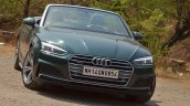 Audi A5 Cabriolet review front angle top down