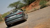 Audi A5 Cabriolet review rear angle top down