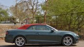 Audi A5 Cabriolet review side top up