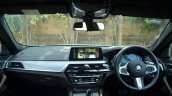 BMW 5-Series 530d review dashboard