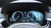 BMW 5-Series 530d review dials