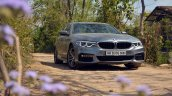 BMW 5-Series 530d review front three quarters