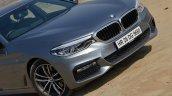 BMW 5-Series 530d review nose