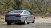 BMW 5-Series 530d review rear angle