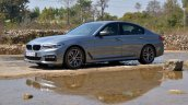 BMW 5-Series 530d review side angle