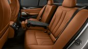 BMW M5 Competition rear seats