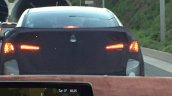 Facelifted Hyundai Elantra (Hyundai Avante) rear spy shot