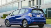 Honda Fit EV rear three quarters