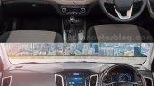 Hyundai Creta old vs new dashboard