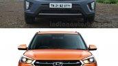Hyundai Creta old vs new front