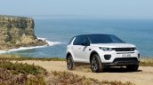 Land Rover Discovery Sport Landmark edition front three quarters scenic