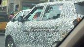 Mahindra S201 (SsangYong Tivoli based SUV) spy shot DLO