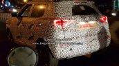 Mahindra S201 (SsangYong Tivoli based SUV) spy shot tail lamp glow