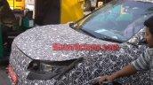 Mahindra S201 front fascia spy shot