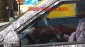 Mahindra S201 interior spy shot