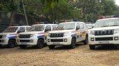 Mahindra TUV300 Mumbai Police fleet