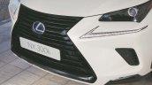 New Lexus NX Sport front fascia