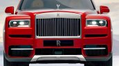 Rolls-Royce Cullinan front leaked image