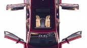 Rolls-Royce Cullinan top view leaked image