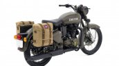 Royal Enfield Classic 500 Pegasus Limited Edition Service Brown rear three quarters