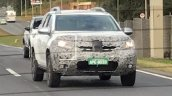 Second-gen Renault Duster front three quarters spy shot Brazil