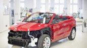 Skoda Karoq convertible concept front three quarters