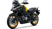 Suzuki V-Strom 650 XT press front left quarter
