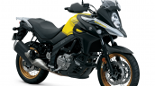 Suzuki V-Strom 650 XT press front right quarter