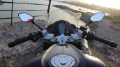 TVS Apache RR 310 Black detailed review cockpit