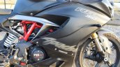 TVS Apache RR 310 Black detailed review fairing right side