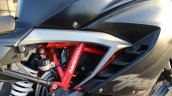 TVS Apache RR 310 Black detailed review frame